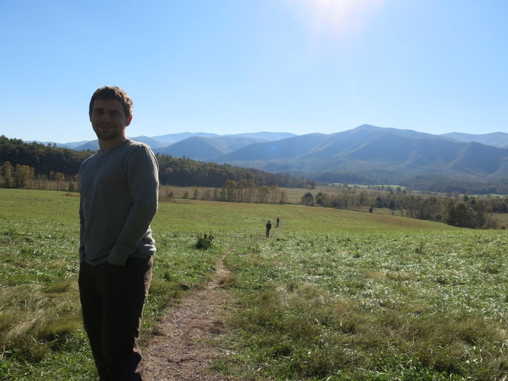 Enjoying the beautiful Cades Cove