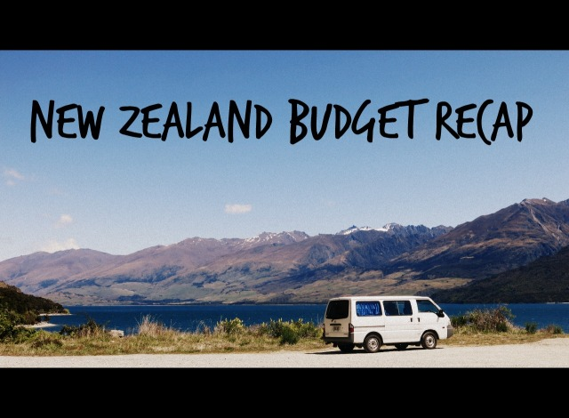 budget recap