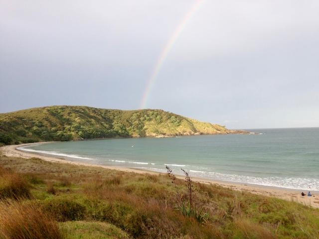Beautiful Mai Tai Bay in the North Island, NZ