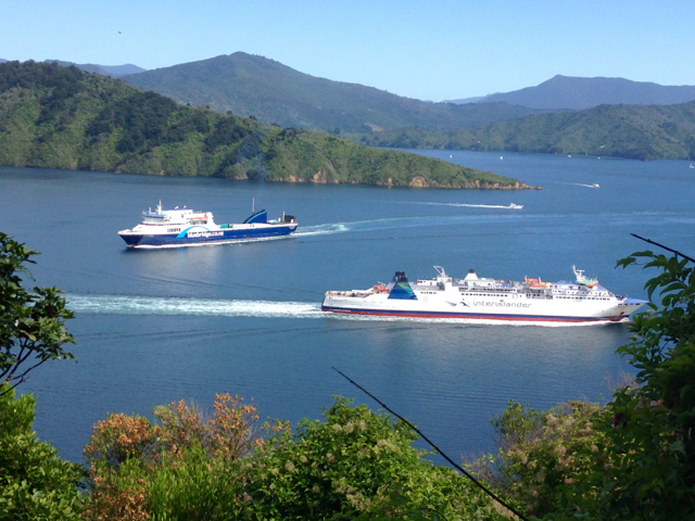 The Interislander Ferry
