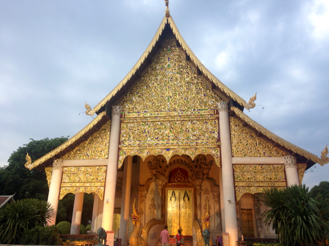 There so many beautiful temples in Chiang Mai