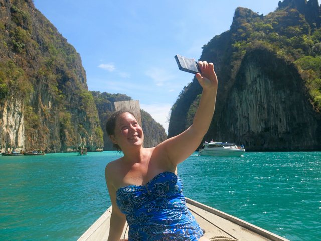 Because when in Maya Bay, you must selfie.