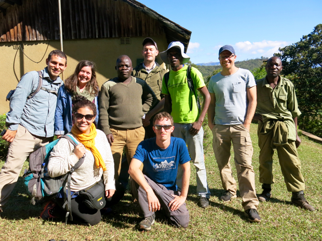 Group pic in Chimanimani Mountains without Sarah (she was sick)